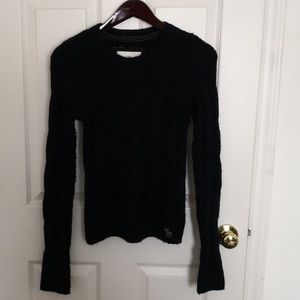 Abercrombie Fitch women's Navy Blue Sweater